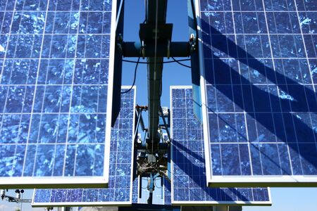 voltaic: Closeup shot of Solar Panel