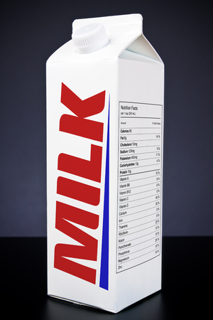 envase de leche: Milk Carton