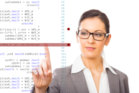 debugging: Software Debugging Stock Photo