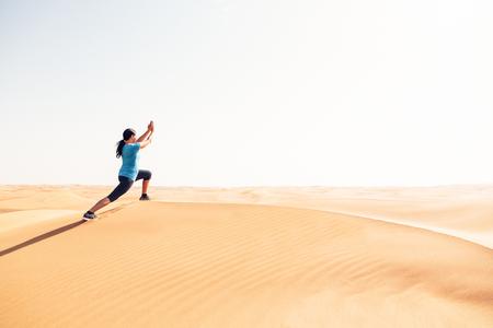 Yoga In The Desert