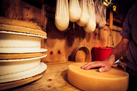 Traditional Cheesemaking 写真素材