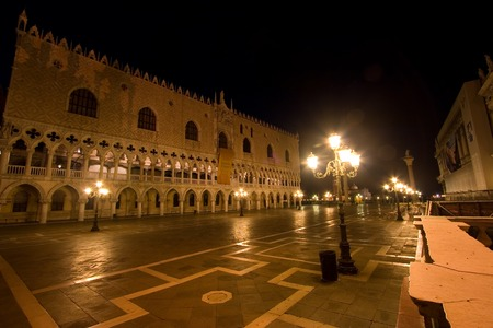 ducale: Palazzo Ducale At Night