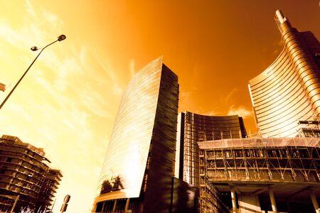 Infrared View Of Milan