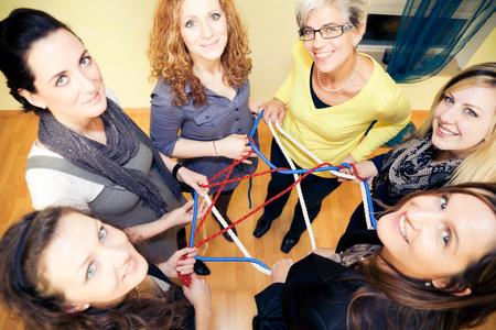Womens Network Stock Photo