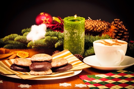 Christmas Still Life With Cookies