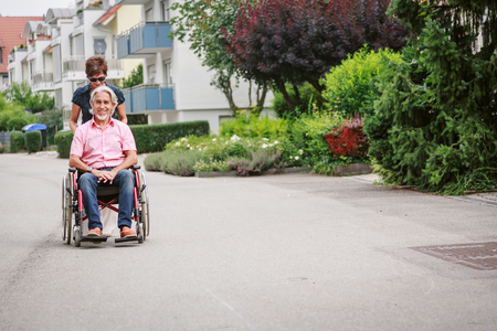 Seniors In Wheelchair