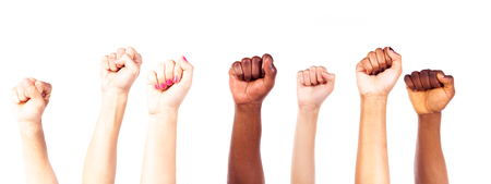 Multi-ethnic Young Adults Hands