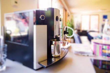 Coffee Machine In The Kitchen