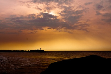 Sunrise By The Sea Zdjęcie Seryjne