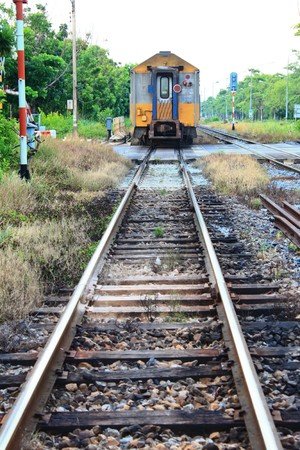 Thai Train2 Stock Photo