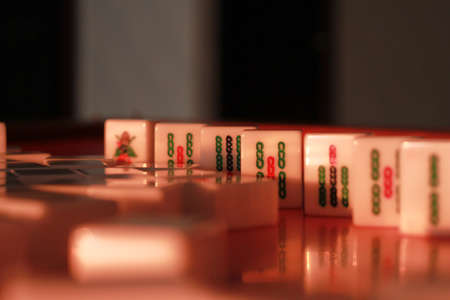 sunlight mahjong2 Stock Photo