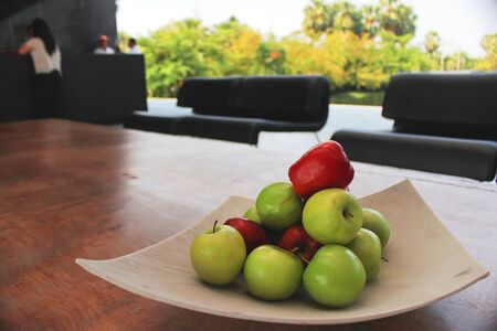 Apple in resort @ Cha-Um Thailand