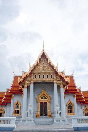 Temple of wat benchamabophit photo