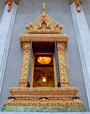 window of Thai church