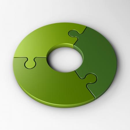 piezas de rompecabezas: piezas aisladas del rompecabezas para colocar conceptos con trazado de recorte Foto de archivo