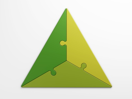 isolated triangle to place concepts with clipping path 스톡 콘텐츠