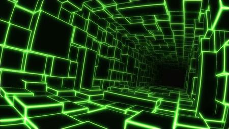 profundity: deep light tunnel