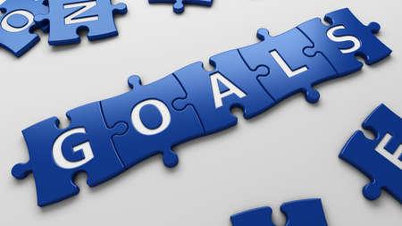 crossword: isolated word goal