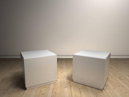 empty pedestals photo