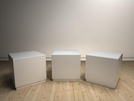 empty podiums photo