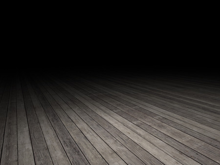 ground floor: wood floor with dark background
