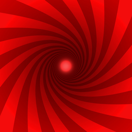 swirl pattern: red background Stock Photo