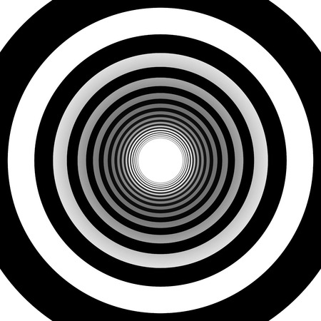 concentric: concentric circles Stock Photo