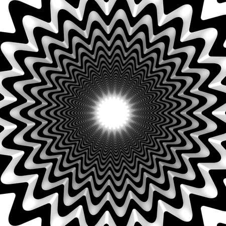 concentric: Concentric flower
