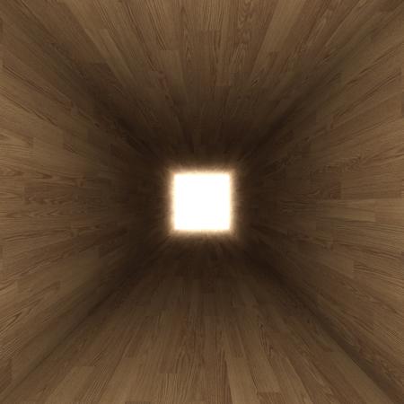 claustrophobia: corridor