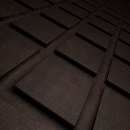 out of the box: abstract dark background