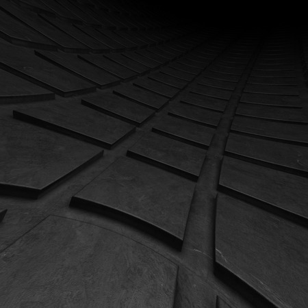 Dark illustration for use as background Stock Photo