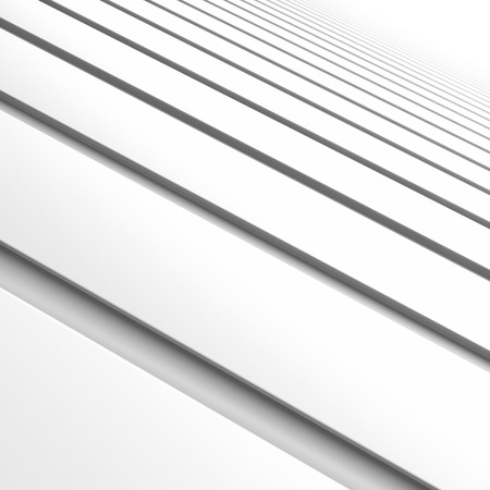 vanishing point: white stripes abstract background