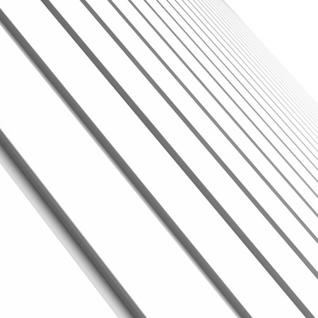 vanishing point: white lines abstract background
