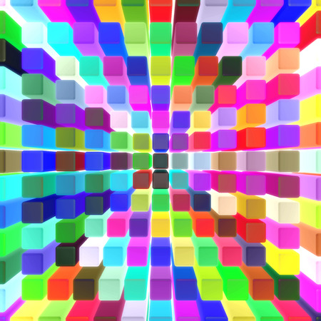 viewpoint: bright colors boxes