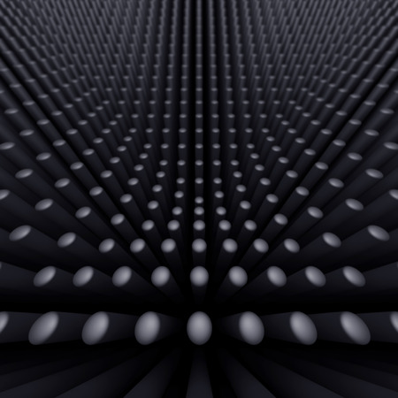 viewpoint: abstract background of many tubes Stock Photo