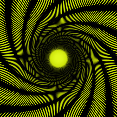 hypnotize: abstract spiral tunnel for a striped background