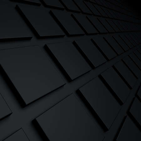 abstract cubes: black abstract cubes background