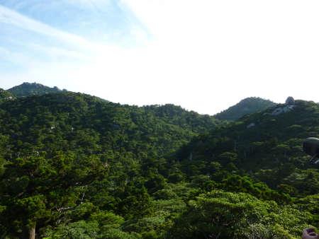 The mountain of Yaku Islands
