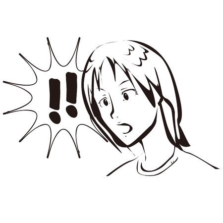 Surprise  イラスト・ベクター素材