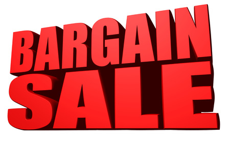 cheapness: Bargain sale Stock Photo