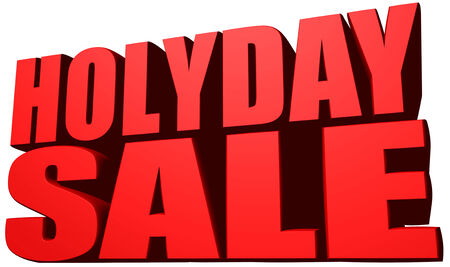 holyday: Holyday sale Stock Photo