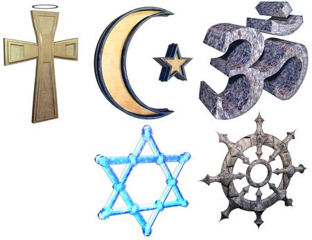 Religion Satz Lizenzfreie Bilder