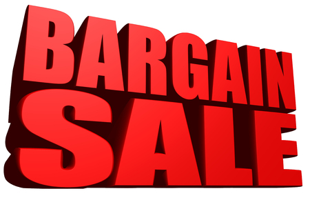 Bargain sale Stock Photo