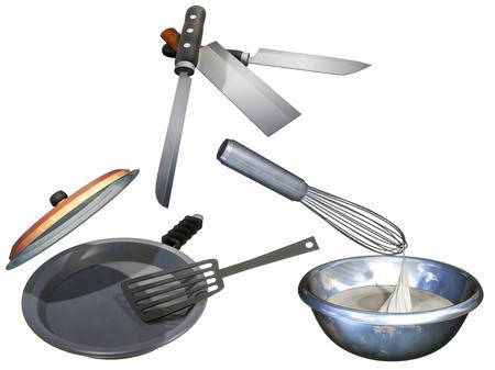 attempted: Kitchen set
