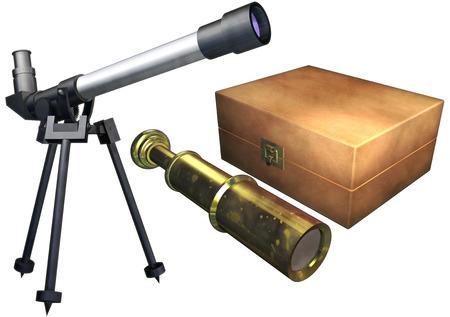 Telescope set photo