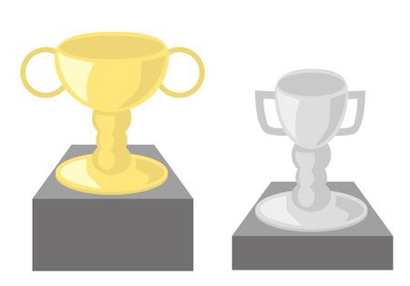 runner up: Trophy