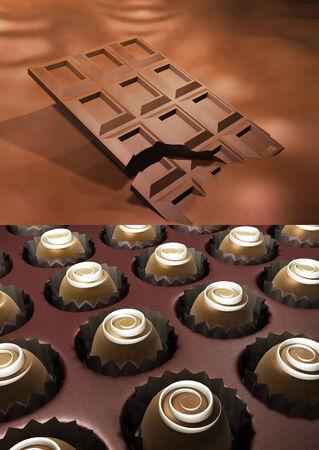 Schokolade Lizenzfreie Bilder