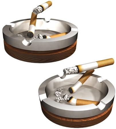 unhealthiness: Tobacco Stock Photo