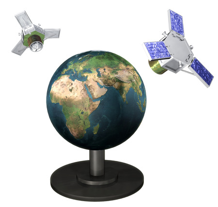 artificial satellite: Artificial satellite