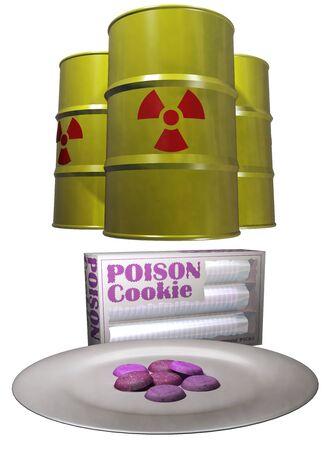 Hazardous substance photo